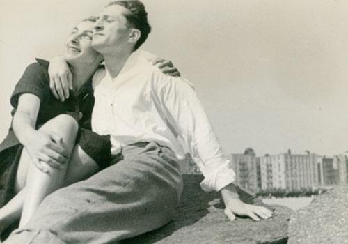 Alice and Fez Coney Island 1936